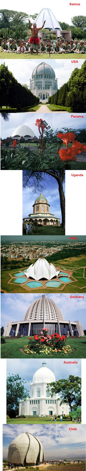 Baha'i Temples in the World