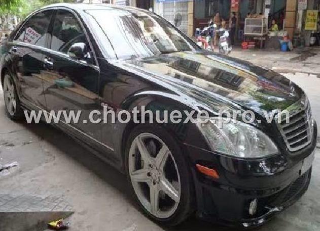 Cho thuê xe giá rẻ Mercedes VIP S65 AMG
