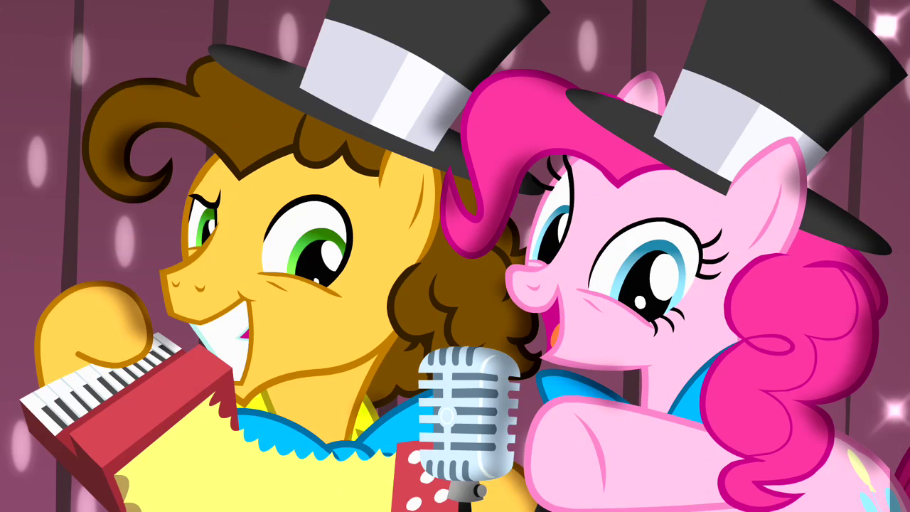 Mlp Pinkie Pie And Cheese Sandwich The Thunder Production...