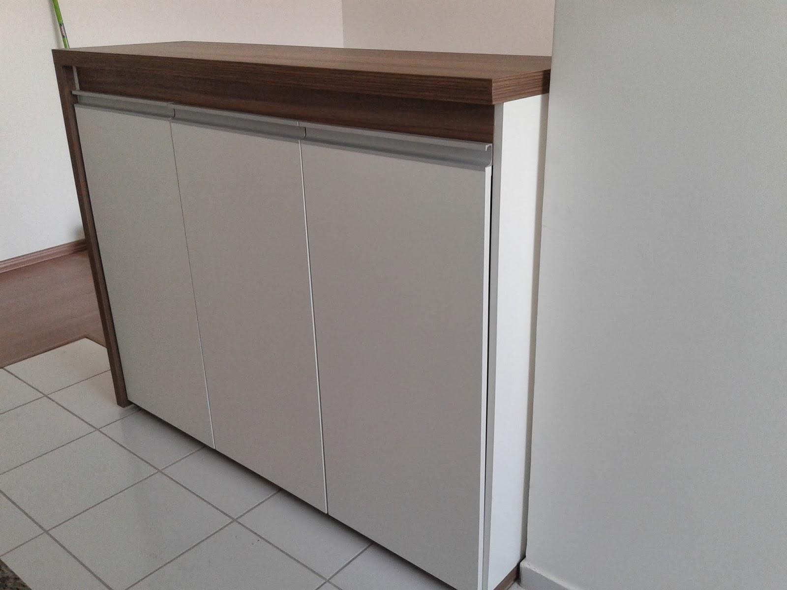 Mais um Projeto de Cozinha para Apartamento Completo.. Armário mais #3A2B24 1600 1200