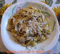 ricetta pasta salsiccia e panna