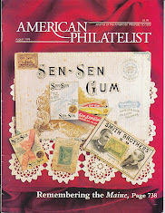 Frank Sente&#39;s American Philatelist 1898 Revenues Cover Story