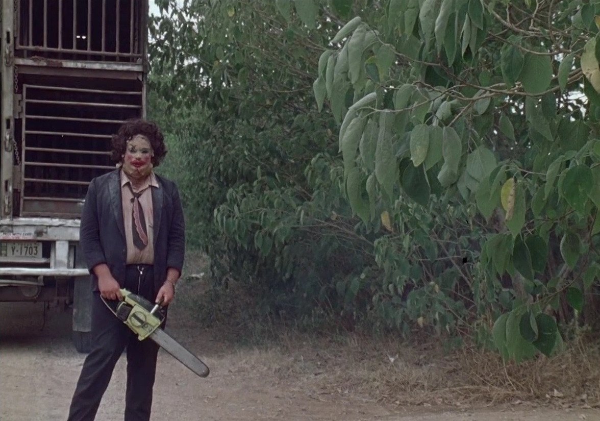 leatherface texas chainsaw last scene