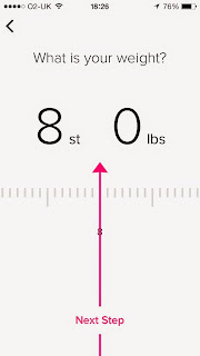 Fitbit Flex App Weight