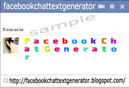 facebook chat text generator