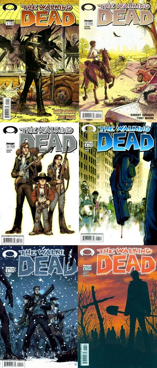 The Walking Dead # 1-6 - Robert Kirkman Tony Moore
