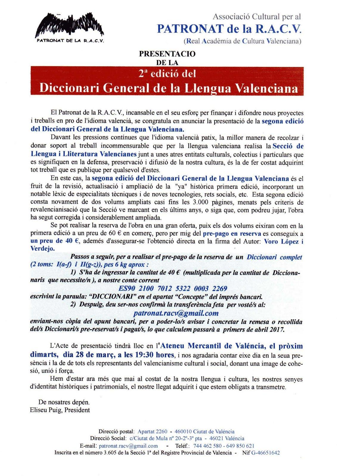 ACV 06 DIA 28 DICCIONARI