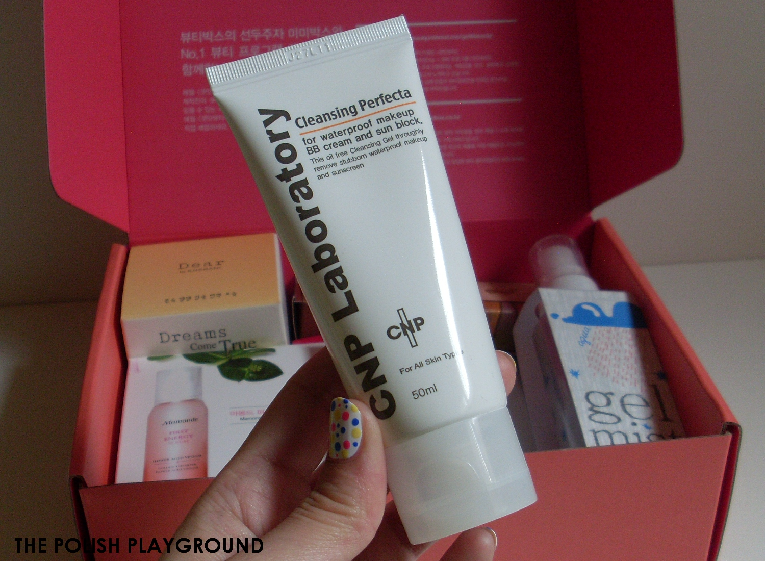 Memebox Luckybox #1 Unboxing and First Impressions - CNP Laboratory Cleansing Perfecta