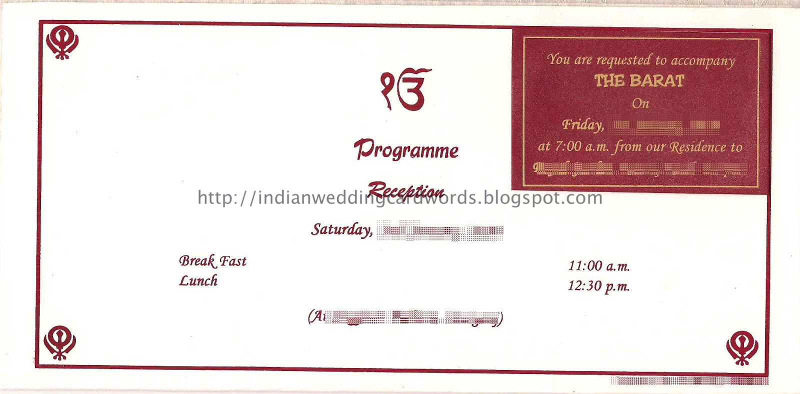 Indian Wedding Invitation Wording Grandparents ~ Matik for .