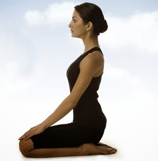 Vajrasana (Adamantine Pose/Diamond Pose/ Kneeling Pose/Pelvic Pose/ Thunderbolt Pose)