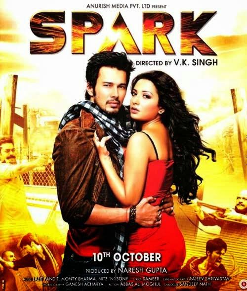 Watch Spark (2014) Non Retail DVDRip Hindi Full Movie Watch Online Free Download