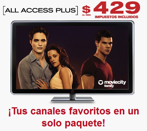 paquete all access plus de dish