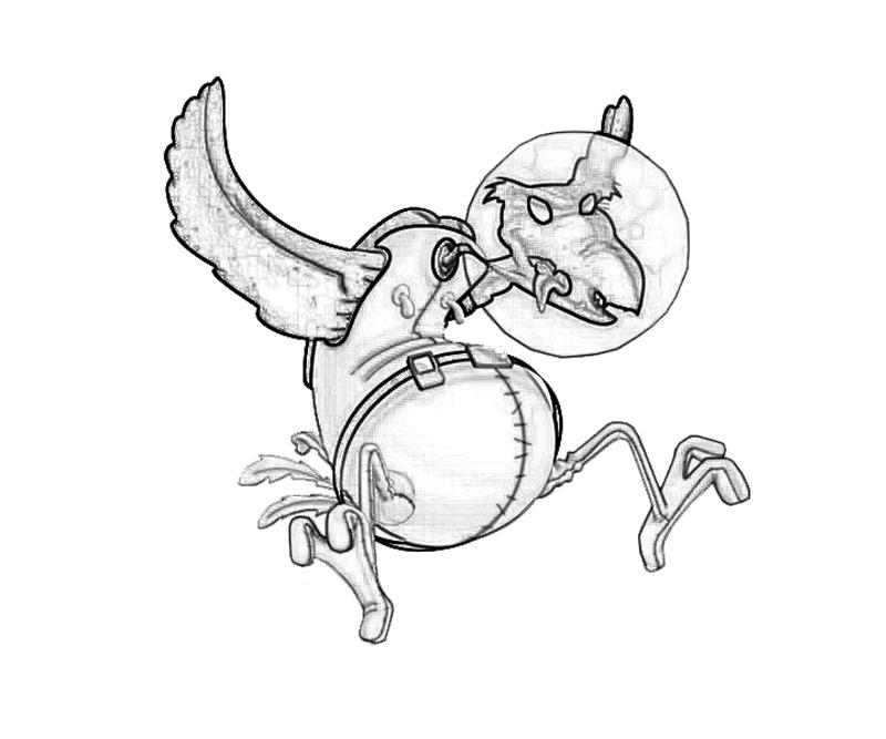 psy-crow-fly-coloring-pages