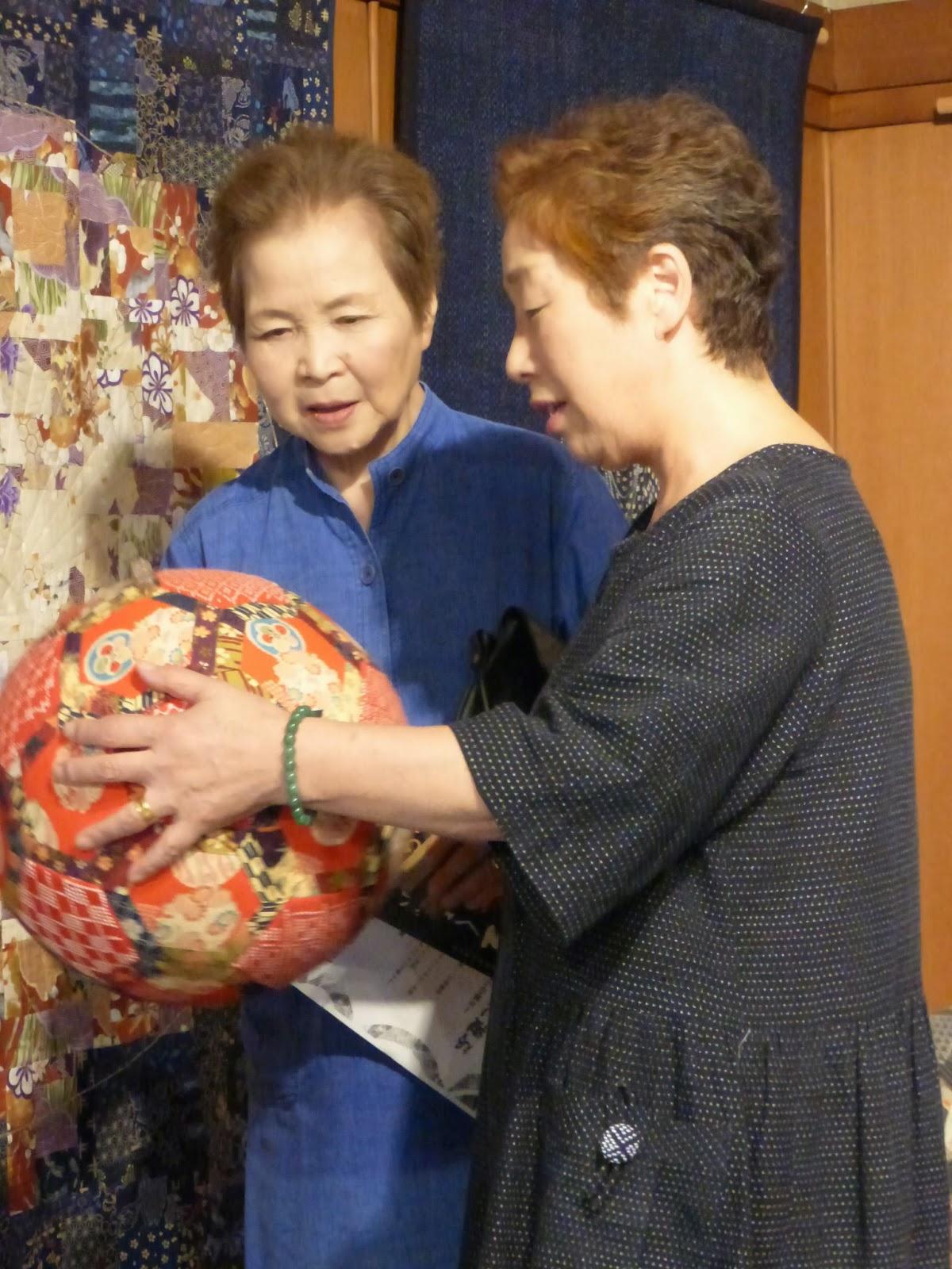 sashiko and other stitching: Meeting old friends around Yuza