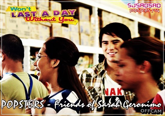sarah geronimo won t last a day without you offcam shots ashrald
