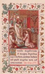 Quando o sacerdote celebra a Santa Missa…