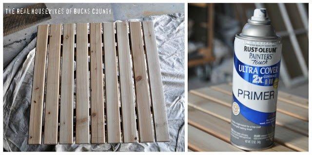 East Coast Creative: DIY Barn Meets Beach Coffee Table