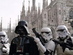 Raduno ufficiale dei figuranti di Star Wars a Milano, sabato 7 dicembre 2013