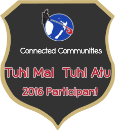 Tuhi Mai Tuhi Atu Badge