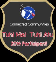 Tuhi Mai Tuhi Atu Badge