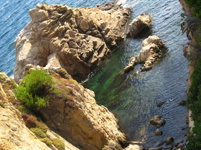 Costa Brava in Blanes near Sant Francesc beach