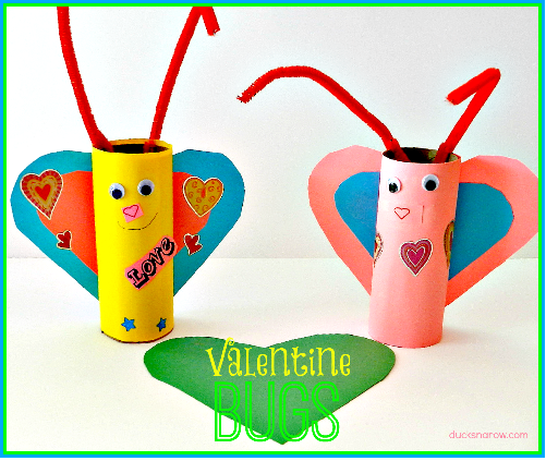 Featured Post:     Valentine Love Bug Preschool Craft