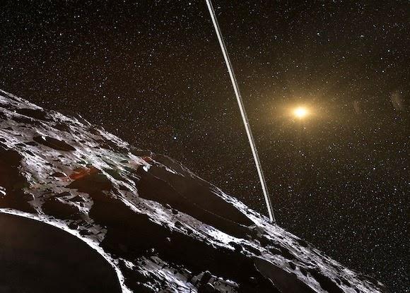 Astronom Temukan Asteroid Bercincin
