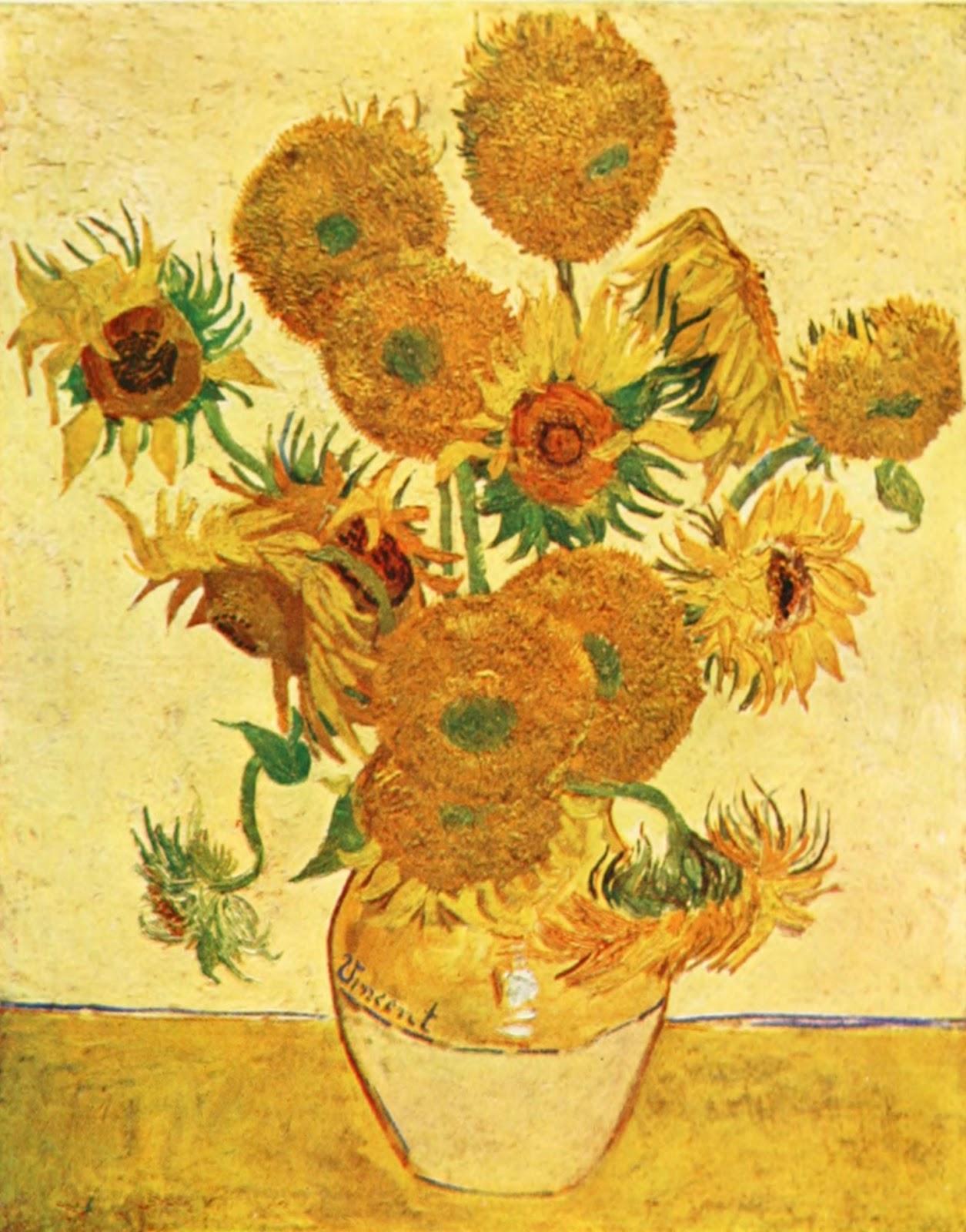 ThePaperSunflower Vincent van Gogh