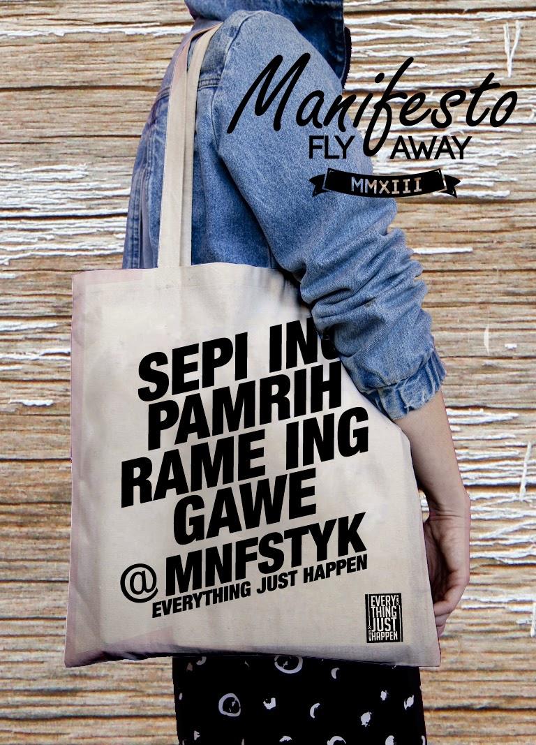 tote bag MNFST Cloth Yogyakarta 5