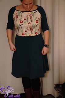 genäht von nili näht - Kleid - Jerseykleid