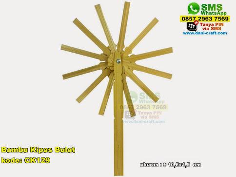 Bambu Kipas Bulat