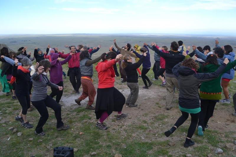 Cuarto Encuentro de Bailarines Folclóricos que sienten el Llamado de la Tierra