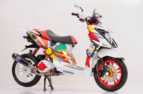 modifikasi yamaha x ride 2015