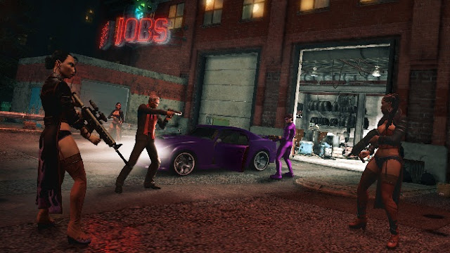 Saints Row: The Third HD Wallpaper