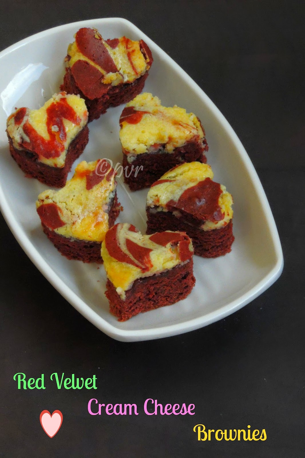 Red Velvet Creamcheese Brownies