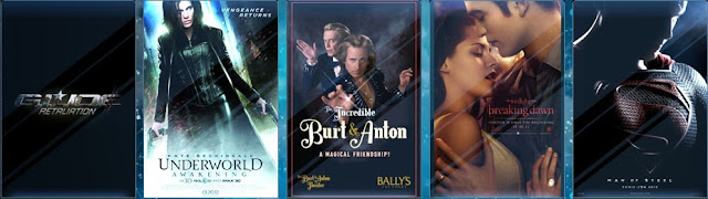TNG Effects with GI JOE,Underworld,Superman,,Burt and Anton,Twilight saga