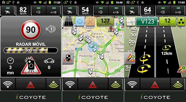 icoyote radares trafico