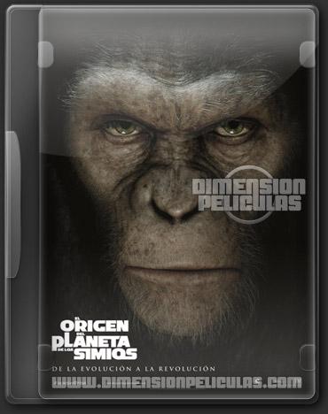 El origen del planeta de los simios (BRRip Español Latino) (2011)