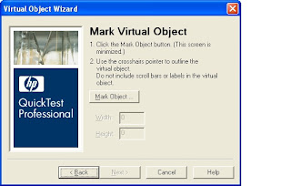 QTP Mark Virtual Object