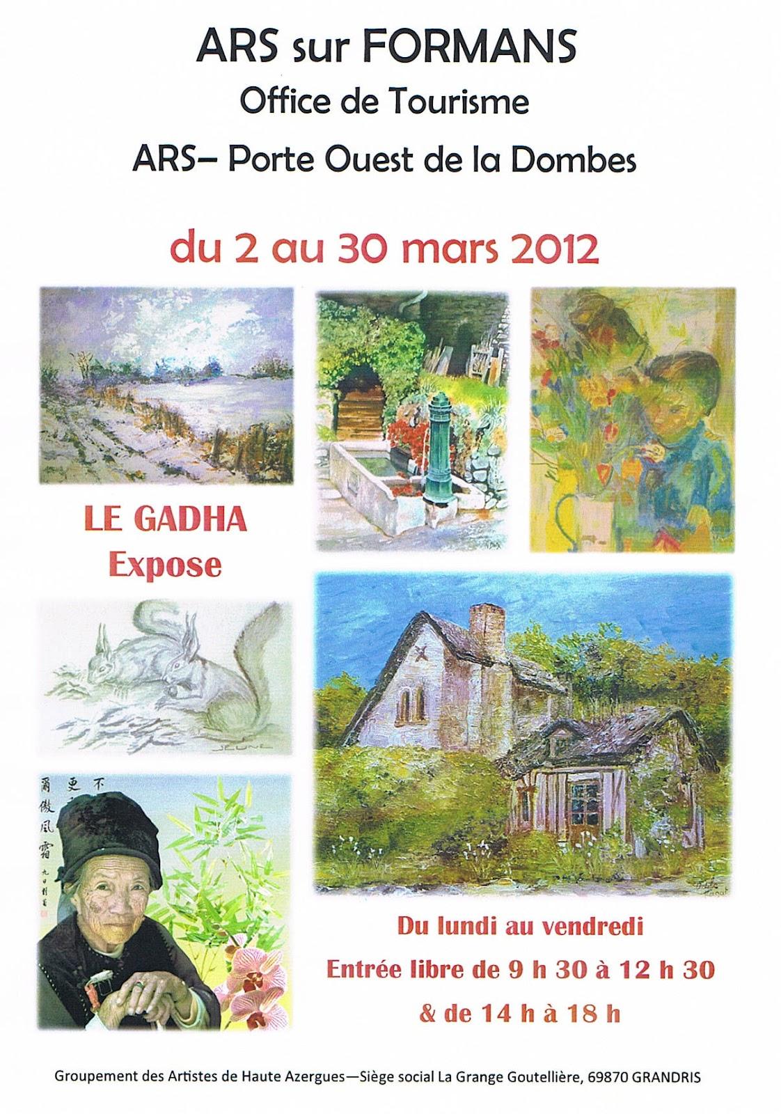 Des couleurs dans l 39 atelier lezar 39 tistes bvs actu - Office tourisme ars en re ...
