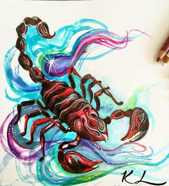 29 Colorful Scorpio Tattoo Ideas Scorpio Quotes