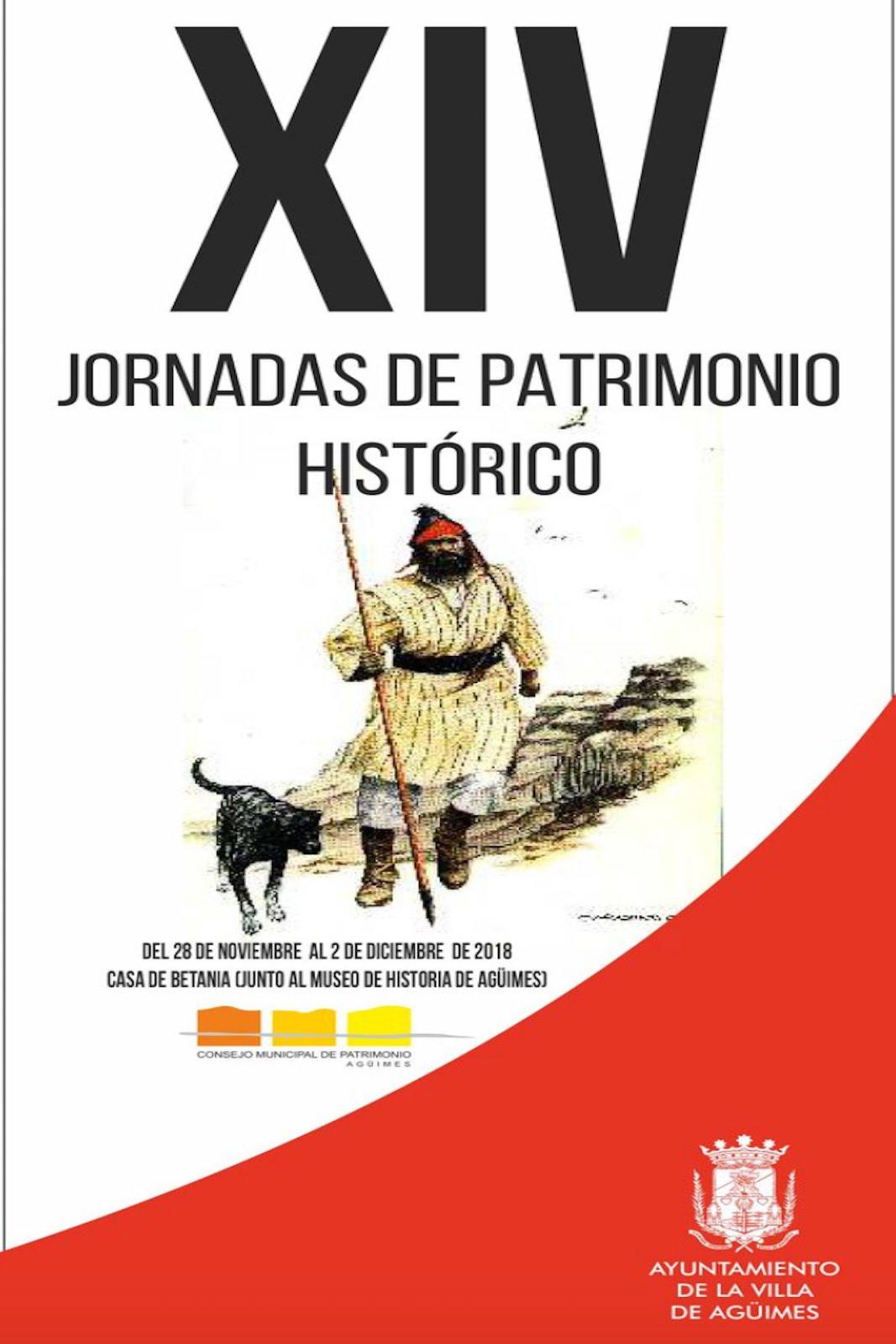 XIV Jornadas de Patrimonio Histórico de Agüimes