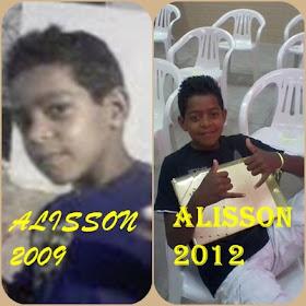 ALYSSON ROBERTO MEU FILHOS
