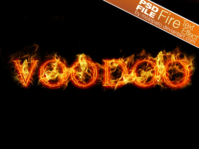 Photoshop Text Effects Psd Free Download Psd Fire Text Effect Free