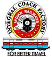 Integral Coach Factory, ICF, Chennai, Tamil Nadu, 10th, RAILWAY, Railway, Apprentice, icf logo