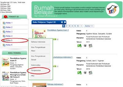 Cara Download Buku BSE Buku Sekolah Elektronik SD SMP SMA SMK