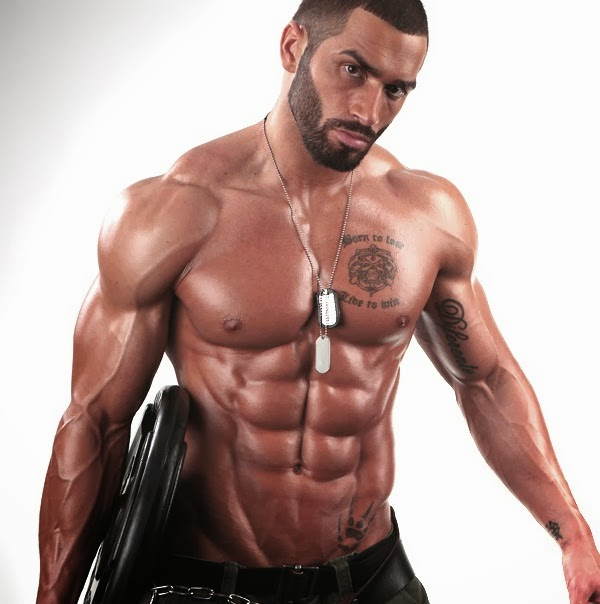 Male Fitness Model Workout Lazar angelov- male fitness