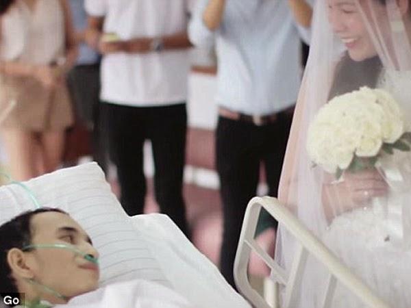 Kisah Sedih dari Seorang Pria yang Meninggal 10 Jam Setelah Menikah