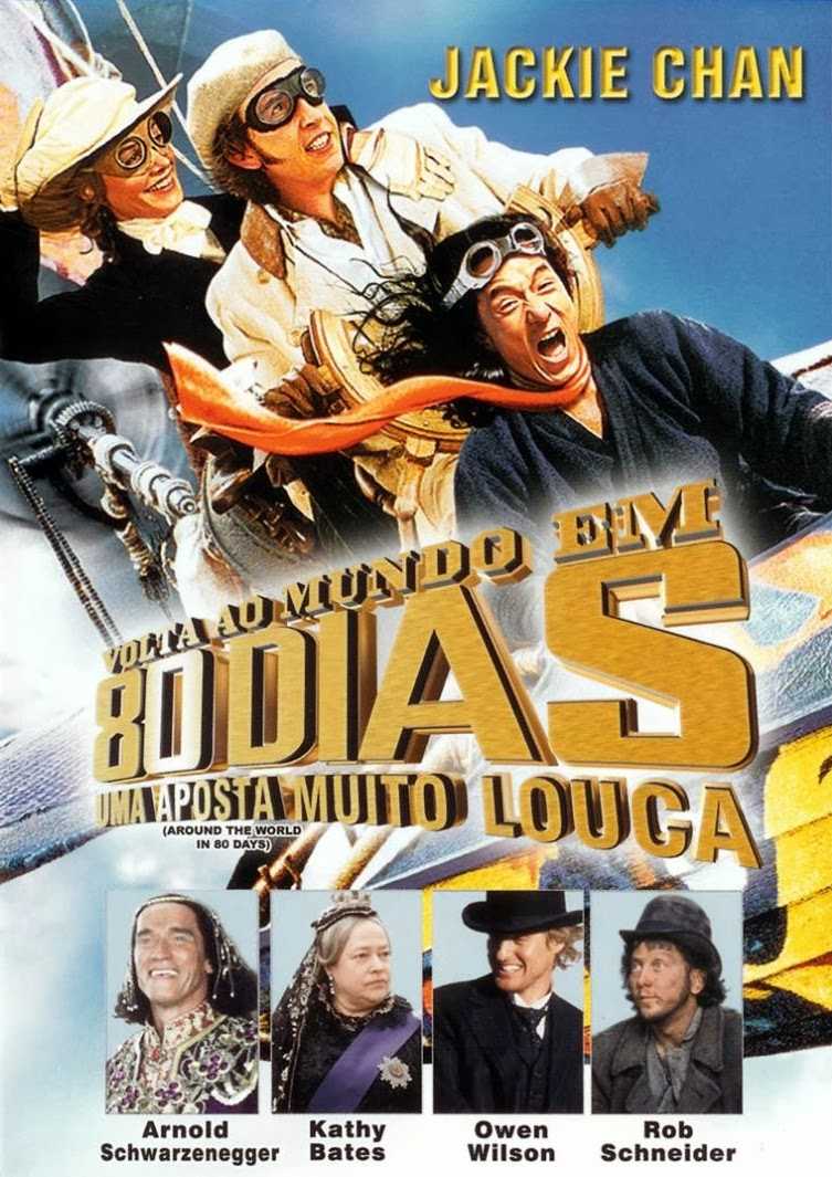 Volta ao Mundo em 80 Dias: Uma Aposta Muito Louca – Dublado (2004)