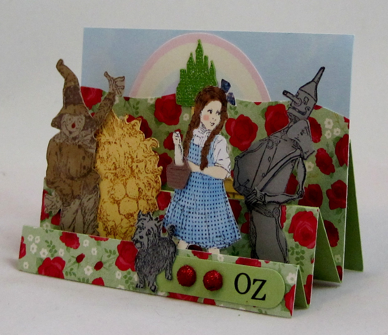 crooked stamper 39 s blog wizard of oz atc